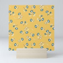 Wind Flower in Yellow Mini Art Print