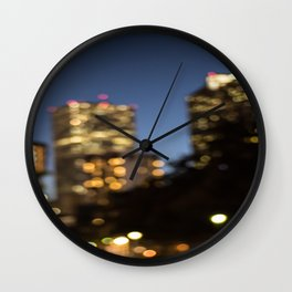 NOLA Nights Wall Clock