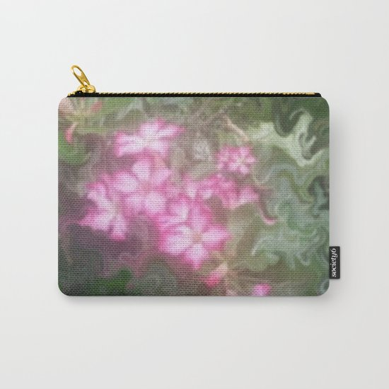Pretty Love Flowers Carry-All Pouch