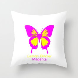 Ulysses Butterfly 5 Throw Pillow