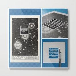 Somewhere Collage Metal Print