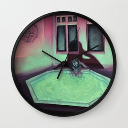 Honeymoon Sweet Wall Clock