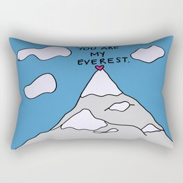 You Are My Everest Rectangular Pillow