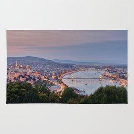 Budapest Cityscape Rug