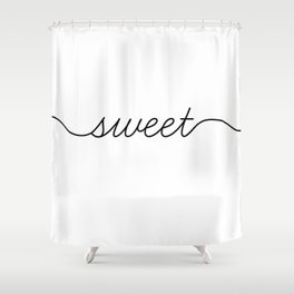 sweet dreams (1 of 2) Shower Curtain