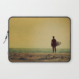 Waiting In Venice - California Surf Print Laptop Sleeve