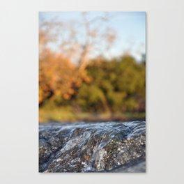 Tidal wWve Canvas Print