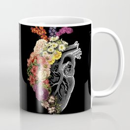 Flower Heart Spring Coffee Mug