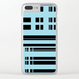 Structural Silhouette Clear iPhone Case