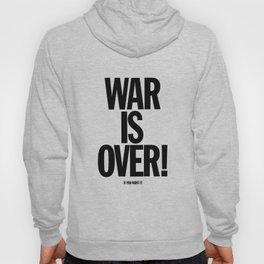War Is Over - If You Want It -  John Lenon & Yoko Ono Poster Hoody