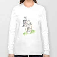 kevin russ Long Sleeve T-shirts featuring Kevin by Sadie Padial