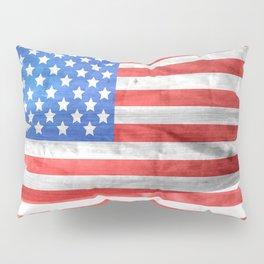 American Flag Pillow Sham