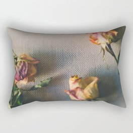 Dried Roses Are Beautiful Too Rectangular Pillow