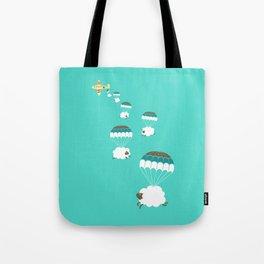 Sheepy clouds Tote Bag