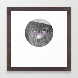 deer cult Framed Art Print