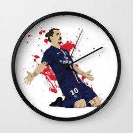 Zlatan Ibrahimovic - Paris SG Wall Clock