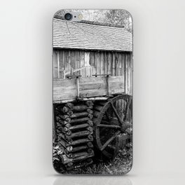 Cable Mill - Old Mill in Great Smoky Mountains iPhone Skin