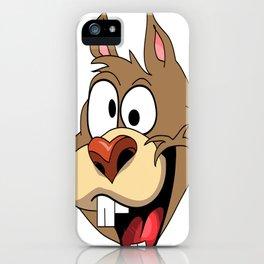 Krazy Squirrel  iPhone Case