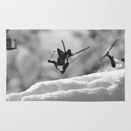 ski jump Rug