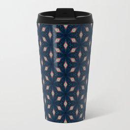 V29 Moroccan Traditional Carpet and Rug Design. Travel Mug