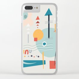woodland carnival Clear iPhone Case