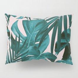 Tropical Jungle Leaves Pattern #3 #tropical #decor #art #society6 Pillow Sham