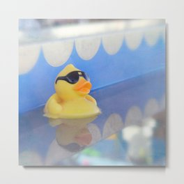 Rebel Duck Metal Print