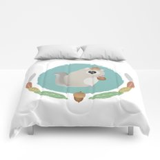 Japanese Flying Squirrel Comforters