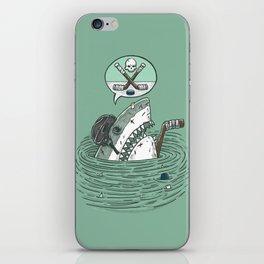 The Enforcer Shark iPhone Skin
