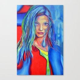 I dreamed a thousand years, 120-80 cm, 2018, oil on canvas Canvas Print
