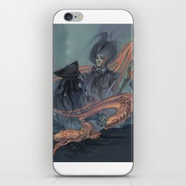 pirates and eels iPhone Skin