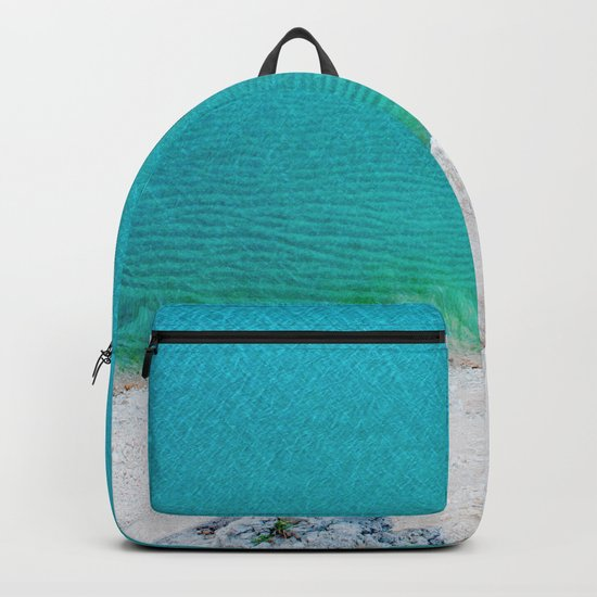 Blue from the top 2 Backpack