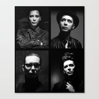 depeche mode Canvas Prints featuring Venus Mode by House of Venus