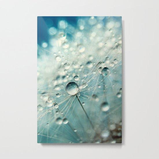 Dandelion Starburst Metal Print