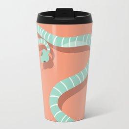 Snake card - hello stranger Travel Mug