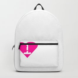 I Heart Retrievers | Love Retrievers (Labrador) Backpack
