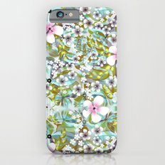 Flowers 'n Rain. iPhone 6s Slim Case