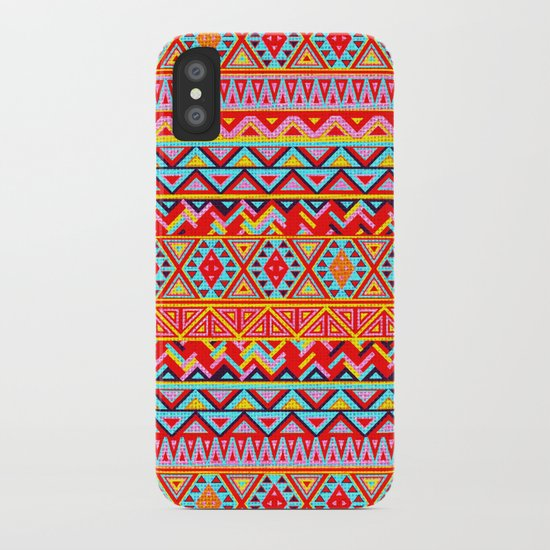 India Style Pattern (Multicolor) iPhone Case