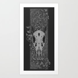 Dried Up Art Print