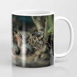 Baby Bird in Spring Coffee Mug
