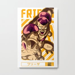 Frieza =  Anime Style Metal Print