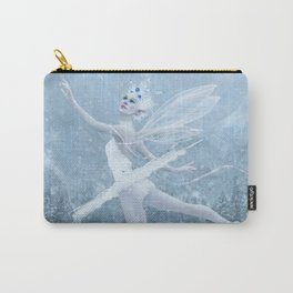Snow Dancer Carry-All Pouch