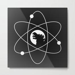 Godzilla (Atomic Power) Metal Print