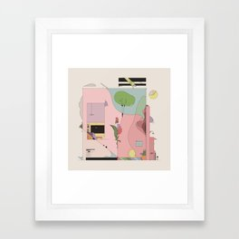 The Comfort of Your Home Framed Art Print