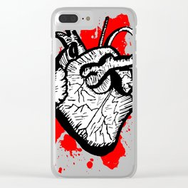 He-Art Clear iPhone Case