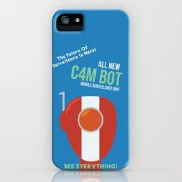 C4M BOT iPhone Case