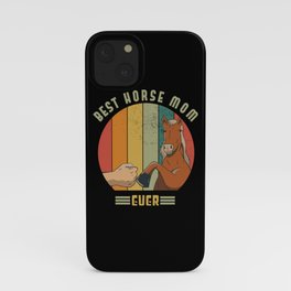 Horse Mother iPhone Case