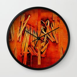 Wind In Your Hair Wall Clock