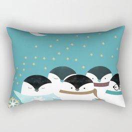 Little Penguins Rectangular Pillow