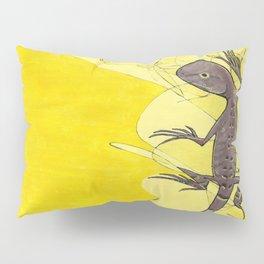 Frank the Lizard Pillow Sham